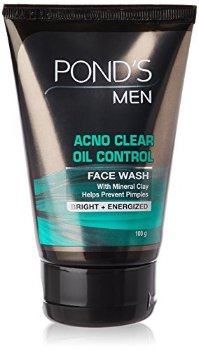 ponds men oil clear face wash