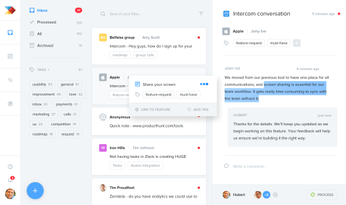 small resolution of consolidate user research and feedback from many sources in one central repository in productboard