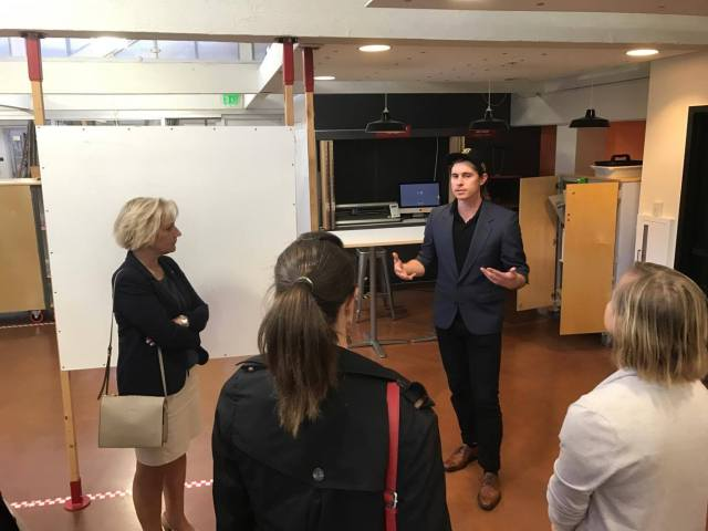 Ryan Ruvald tells the story about the Stanford d.school.