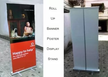 aluminum roll up poster