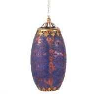 EXOTIC RELIC MOROCCAN HANGING CANDLE LAMP