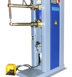profab air operated fully automatic spot welder [ 1692 x 2384 Pixel ]