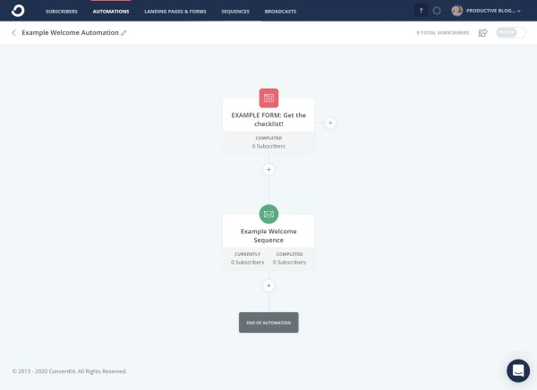 How to create a simple automation in ConvertKit