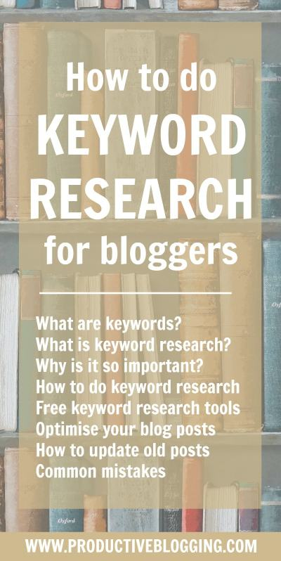 SEO is crucial for long term blog growth, and at the heart of SEO is keyword research. But what exactly is keyword research, and why is it so important for blog growth? Find out in this step by step guide to keyword research for bloggers – and watch your blog traffic soar! #keywordresearch #SEO #searchengineoptimization #keywords #yoastplugin #yoast #yoastseo #growyourblog #bloggrowth #bloggrowthhacks #productiveblogging #productivity #productivitytips #productivityhacks #productivityhabits #bloggingtips #blogginghacks #blogsmarter #blogsmarternotharder #BSNH