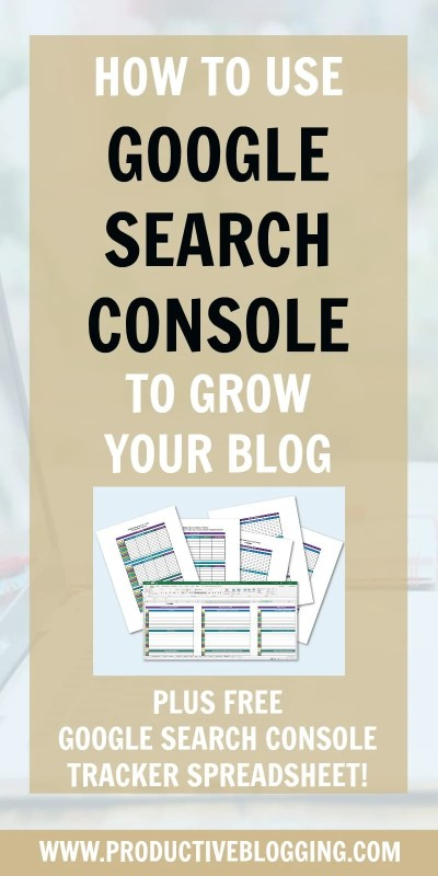 Want to know what is one of the best FREE TOOLS to grow your website? Google Search Console! Read on to discover how to use Google Search Console to grow your blog traffic in 2019. #GoogleSearchConsole #GSC #SEO #SEOtips #searchengineoptimization #keywords #yoastplugin #yoast #yoastseo #growyourblog #bloggrowth #bloggrowthhacks #bloggingtips #blogginghacks #blogsmarter #blogsmarternotharder #productiveblogging