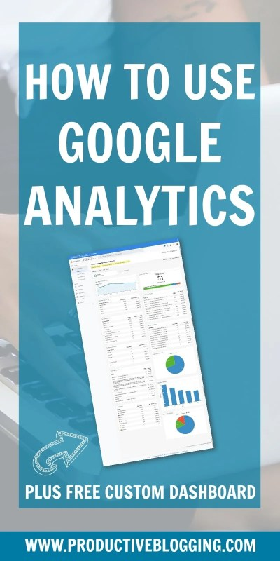 So you have your blog connected to Google Analytics, but how do you actually use it? In this beginner's guide to Google Analytics, I share some of the key ways that Google Analytics can help you track your progress. Plus find out how you can get a FREE custom dashboard! #GoogleAnalytics #GoogleAnalyticsforBloggers #GoogleAnalyticsforBeginners #GoogleAnalyticsCustomDashboard #Bloggers #Blogging #WordPressBlog #WordPressWebsite WordPressBloggers #ProductiveBlogging