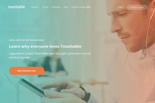Teachable Home Page