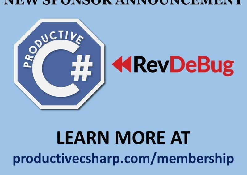 RevDeBug Sponsor My Productive C#