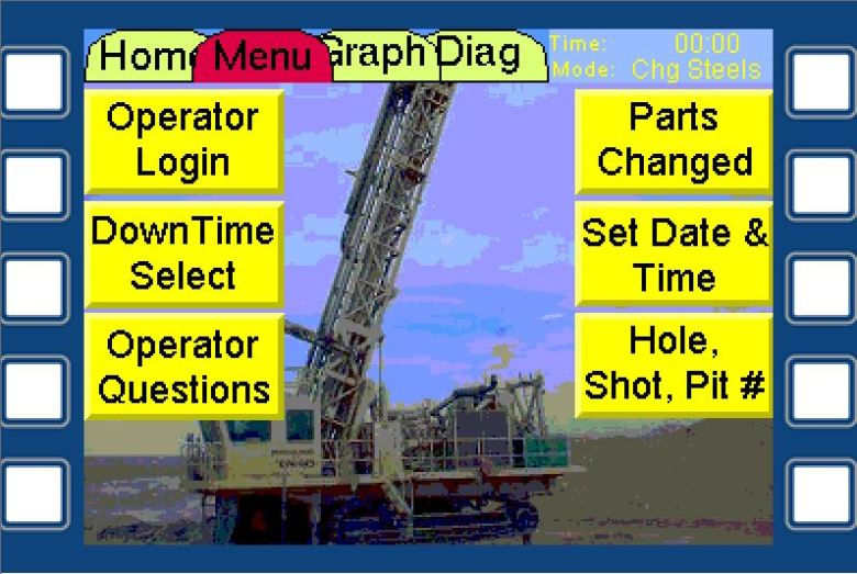 Drill Menu Screen