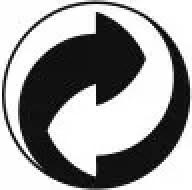 Símbolo del punto verde con el que los envasadores muestran que están adheridos a ecoembes