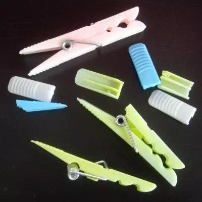 pinzas de plástico