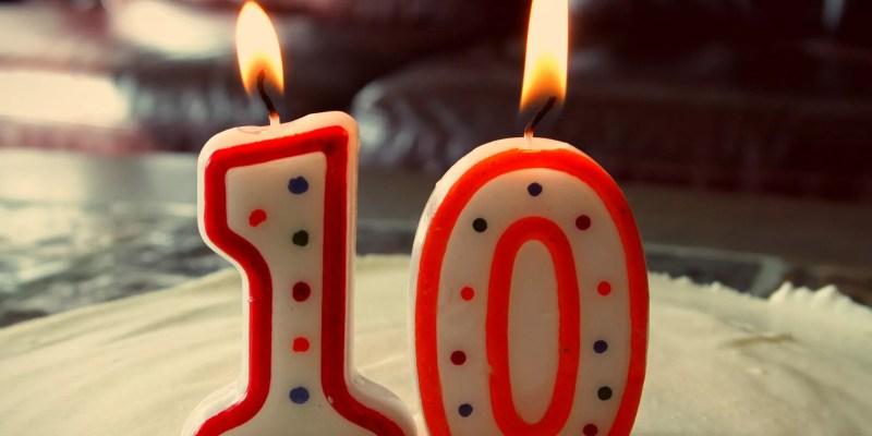10 años de blog