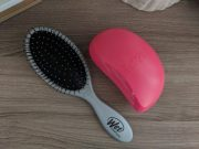 wet brush . tangle teezer