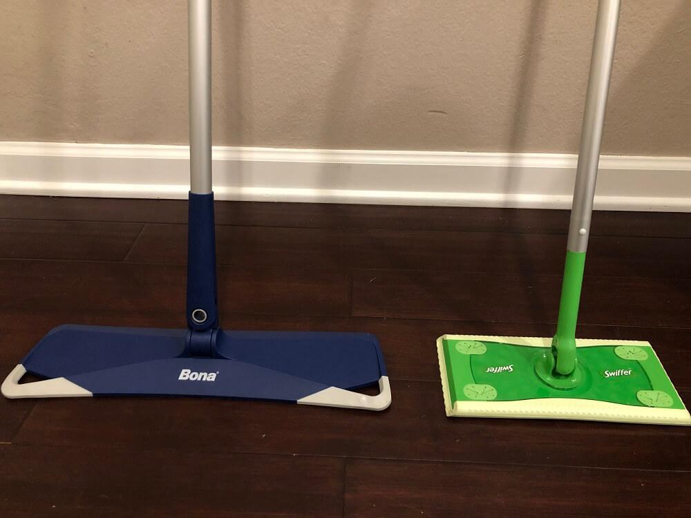 bona vs swiffer the best floor stick