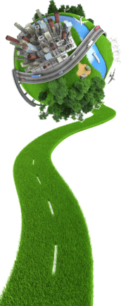 green road to green world