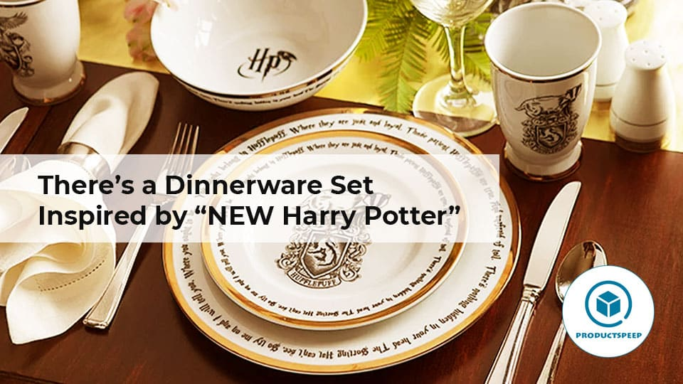 """There's a Dinnerware Set Inspired by """"NEW Harry Potter"""""""