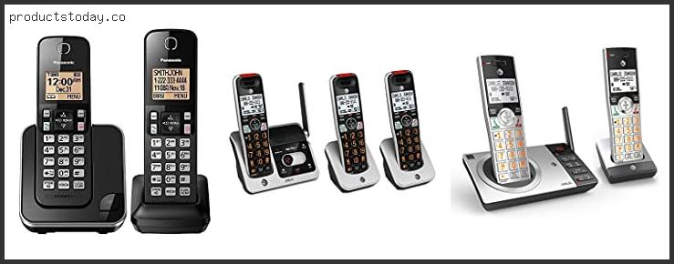 Best Cordless Phone Without Answering Machine Reviews