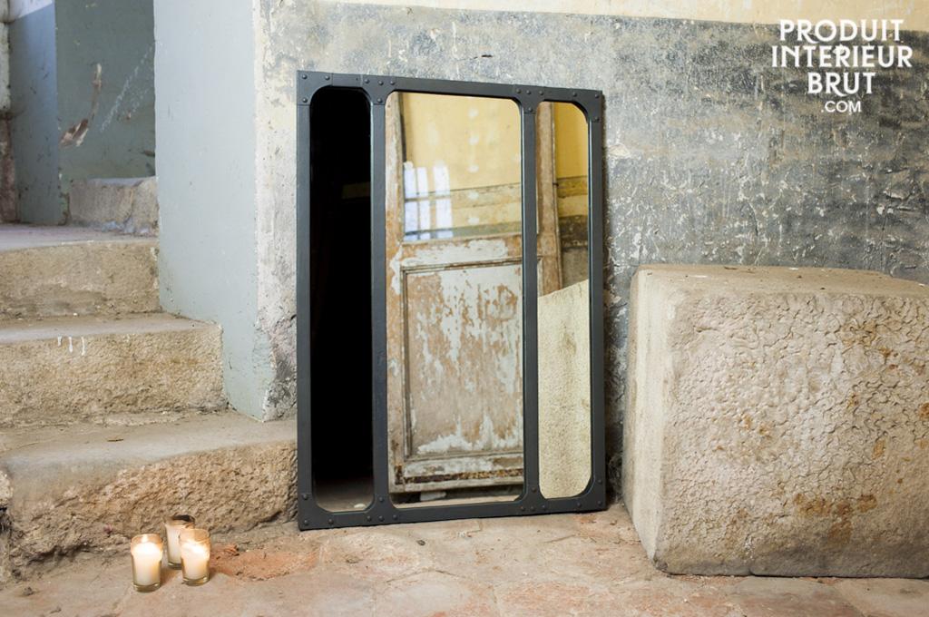 Miroir Eiffel Style Industriel Miroir Design Pour Une