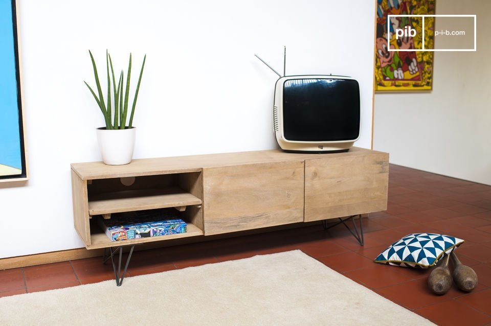 meuble tv en bois zurich