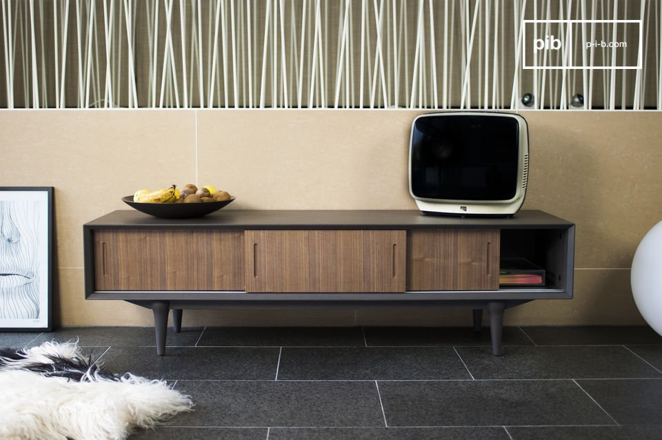 meuble tv tumma fjord