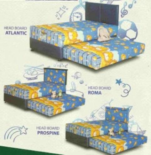 SPRING BED 2 in 1 Legenda Kids