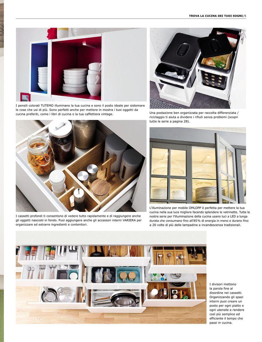 Un tocco di stile per il piano di lavoro della cucina. Seite 5 Von Cucine Ikea Guida All Acquisto 2014 Italienisch
