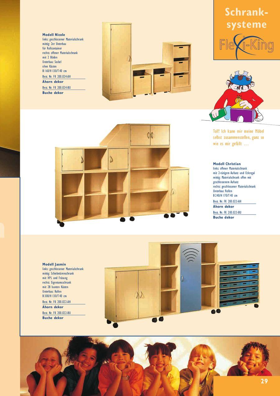 Seite 10 Von Schranksystem Flexi-King 2008 / 2009