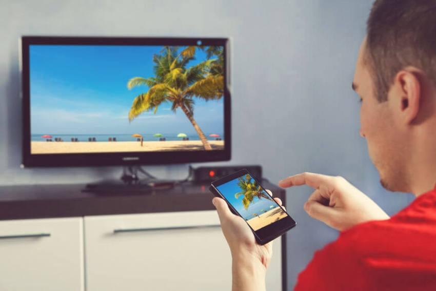 übertragung smartphone tv