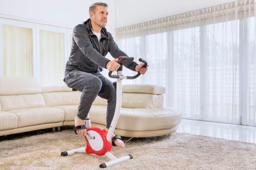 heimtrainer wohnzimmer