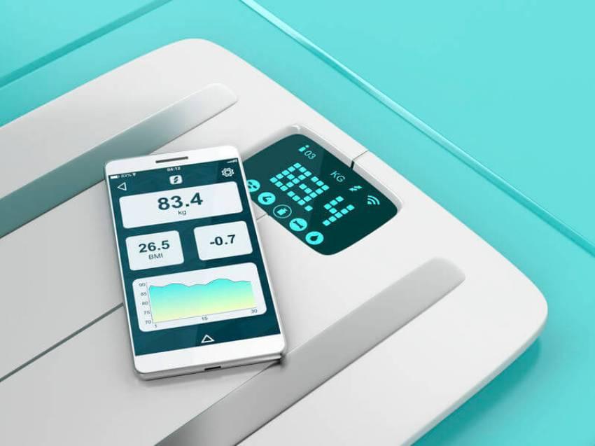 personenwaage smartphone app