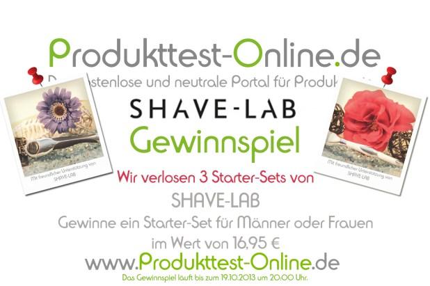 _Gewinnspiel Shave-Lab SHAVE-LAB