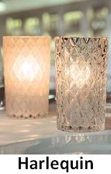 Lampki dekoracyjne na płynny wosk LUMEA: Harlequin