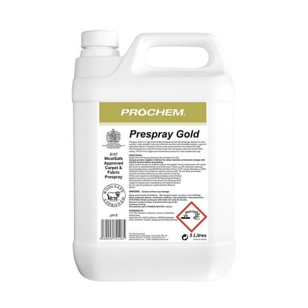 Prespray Gold B107 5l