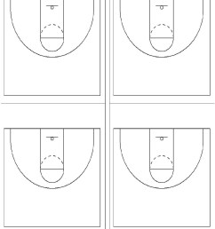 about the basketball court diagrams [ 1100 x 1458 Pixel ]