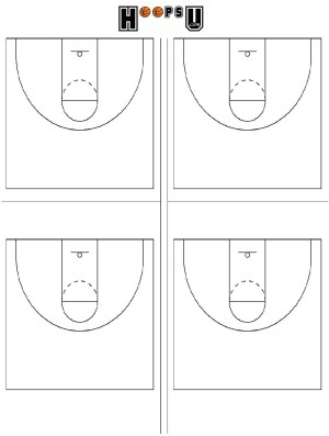 What are the basketball court dimensions  diagrams for