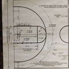 High School Basketball Court Diagram S10 Wiper Motor Wiring There Is His Of Minimal Customized Half