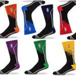 kaos kaki basket logo klub bordir dan rajutan