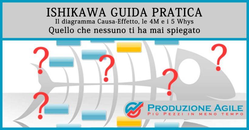 Ishikawa Guida Pratica Il Diagramma Causa Effetto Le 4m E I 5whys