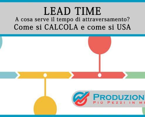 Lead Time - Lean Production
