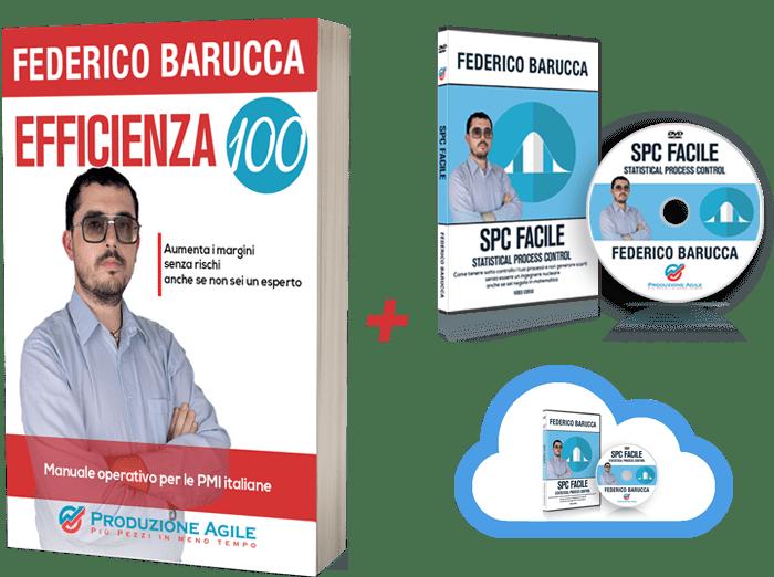 Libro EFFICIENZA100 + DVD + Cloud
