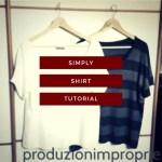 tutorial cucito maglietta fai da te