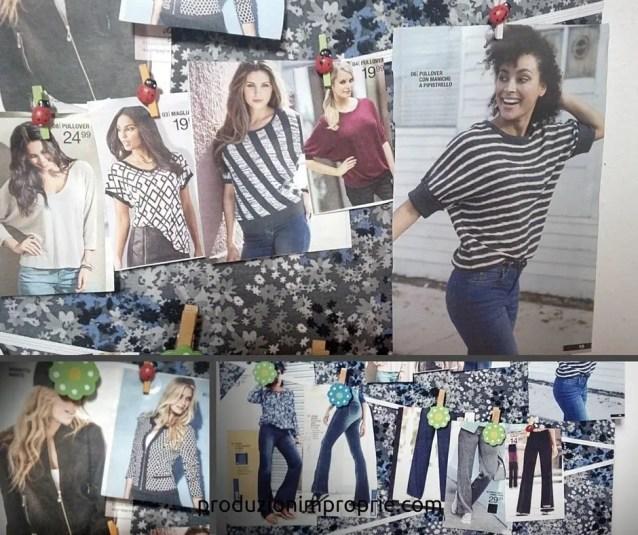 Modelli tratti da catalogo Bonprix