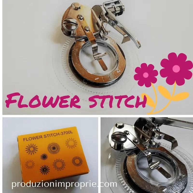 Flower Stitch - Il piedino per ricamare fiori a macchina