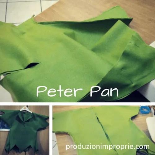 costume carnevale peter pan