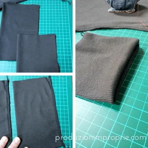 polsino maglia