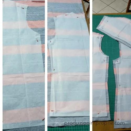 disegno e taglio t-shirt