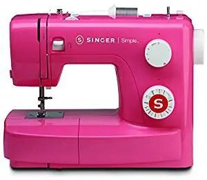 macchina da cucire singer simple rosa