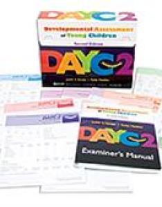 Dayc developmental assessment of young children  second edition also rh proedinc