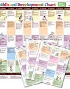 Early childhood development chart  third edition combo also judith rh proedinc