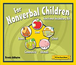 For Nonverbal Children: Functional Vocabulary Kit CARDS